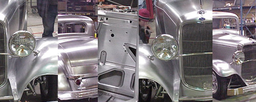 Steel 1932 Ford 3w