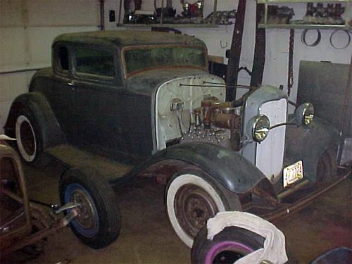1932 ford 5w