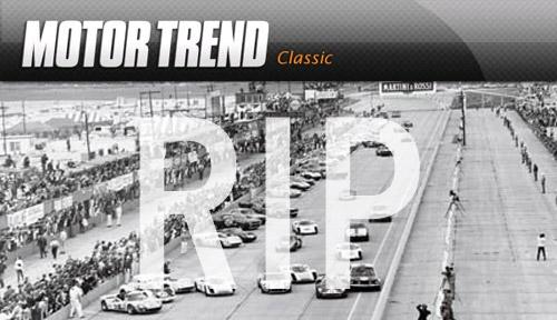Motor Trend Classic Motor Trend Classic