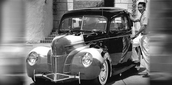 Bob McCoy's '40 Sedan