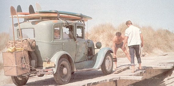 Vintage Surf Transportation