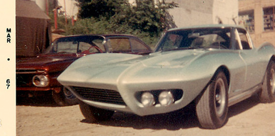 Ray Farhner's Corvette