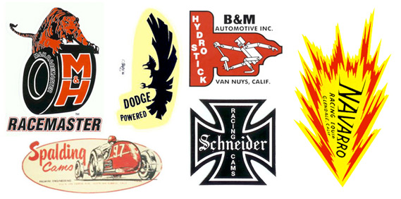 The logos of Speed & Power