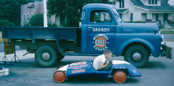 Vintage Soap Box Cars