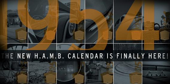 The New H.A.M.B. Calendar!