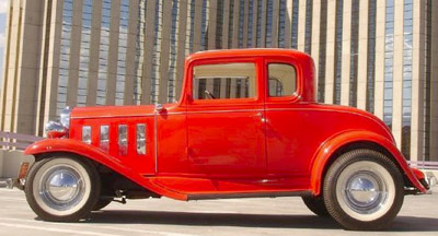 Unrestored 1932 Chevy Coupe – Olds Powered!