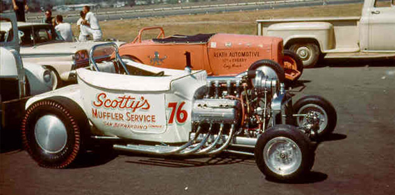 Scotty's Muffler Service Dragster