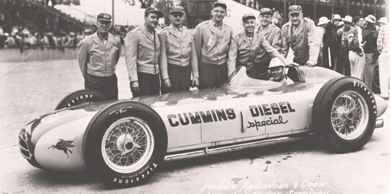 When the Diesel came to Indy…