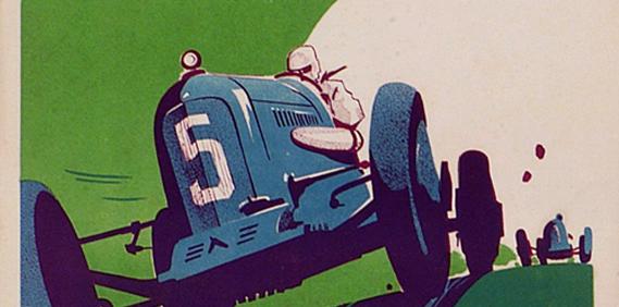 Vintage European Racing Posters