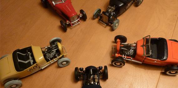 'Origins of Speed' Roadsters