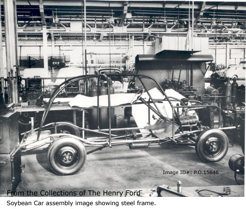 ... Soybean car getting on the road. u2026 & Real Henry Ford Plasticu2026 | The Jalopy Journal The Jalopy Journal markmcfarlin.com