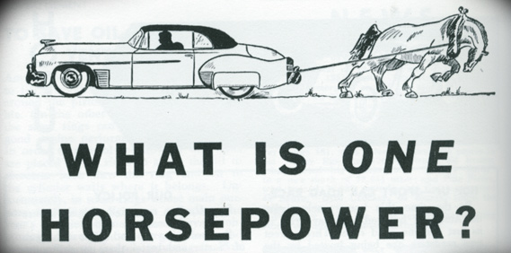What Is One Horsepower?