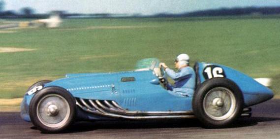 Talbot Lago T26C Grand Prix Racer