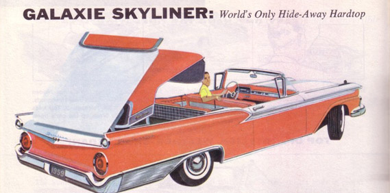 Ford Fairlane Skyliner… The Retractable Hardtop
