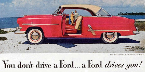 Creating the 1953 Fords, Trucks and Mercurys…