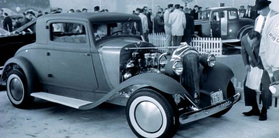 The other '32 3 window… The Plymouth PB Coupe