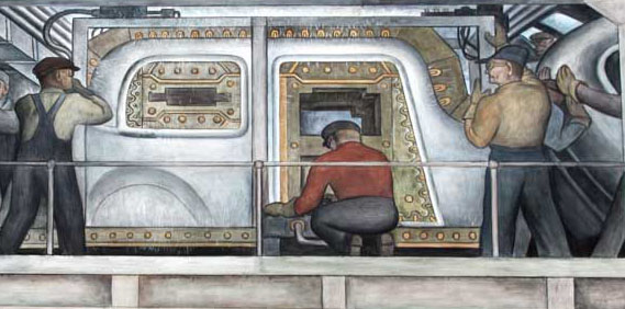 Diego Rivera's Ford (Detroit Industry) Mural