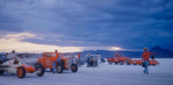 LIFE Images of Bonneville 1954