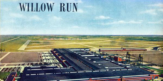 The end of the Willow Run.