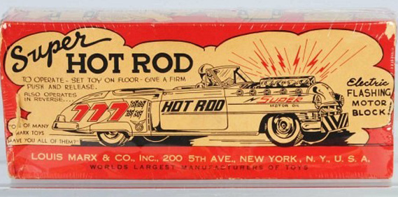 Tin Toy Hot Rods