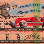 1947 indy ticket obv jun 5
