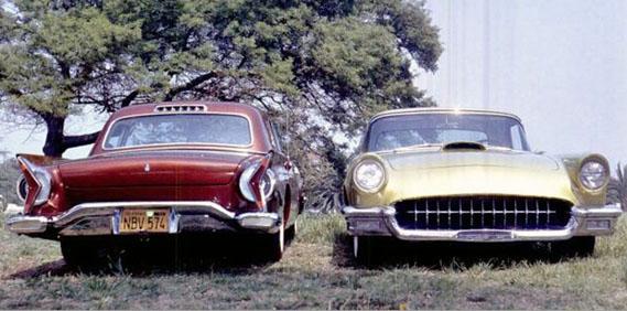 "Jack Hershey & ""Shorty"" Ewing's '57 Thunderbirds"