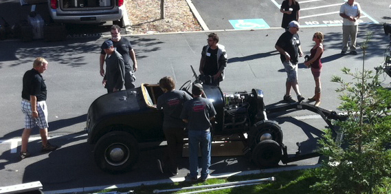 """Driving a Hot Rod on """"Reality"""" TV"""