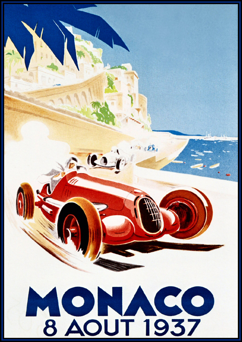 Classic Sports Car Posters
