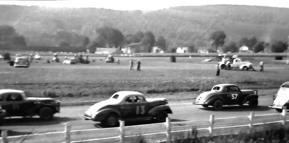 Early Dirt Track Racing