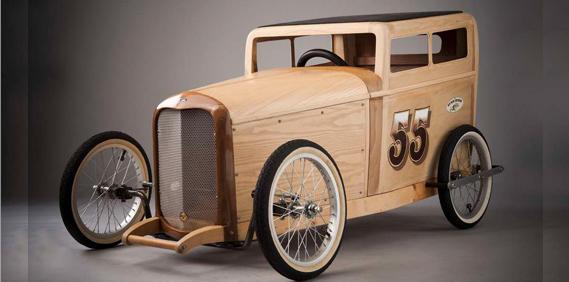 One Knotty '32 Sedan…