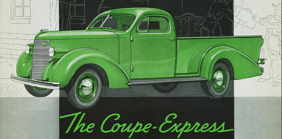 Studebaker Coupe Express… One cool truck.