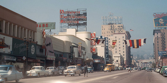 Los Angeles in the 1950's