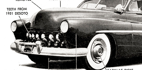 The Five Finest Grilles of the '50s