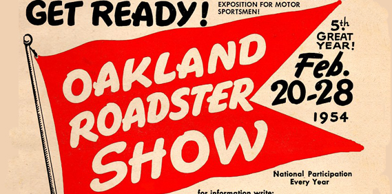 Oakland Roadster Show 1954