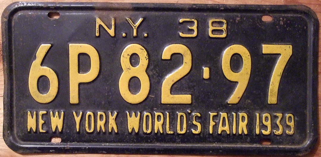 Old License Plates are always cool | The Jalopy Journal The Jalopy ...