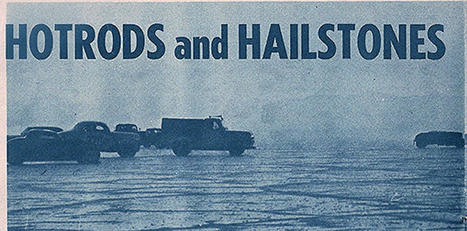 Hot Rods and Hailstones – Bonneville '54