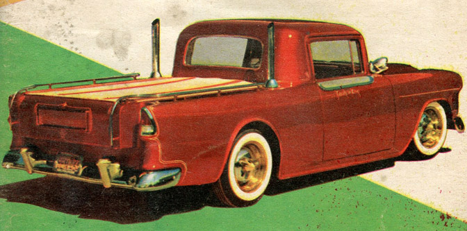 Marge Bailon's Tri-Five Pickup