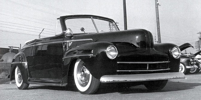 Tony Frenn's 1947 Ford Convertible