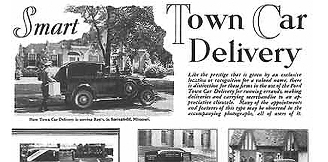 The Ford Model A Town Delivery: One Odd Rod.