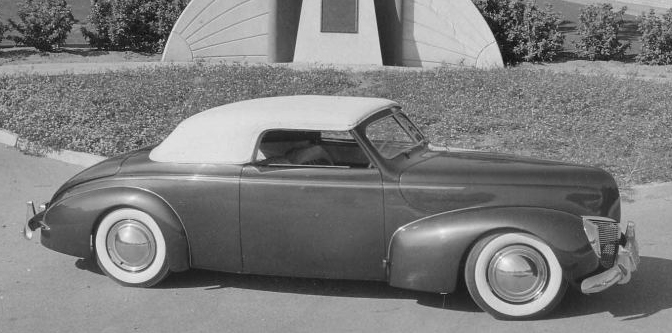 Glen Hooker's 1939 Mercury Convertible