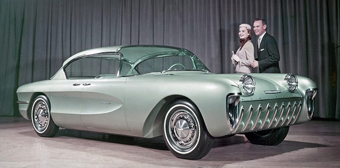 The Dream Cars for 1955…