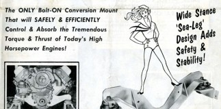 Motor Mounting Madness: Hurst Catalog 1960