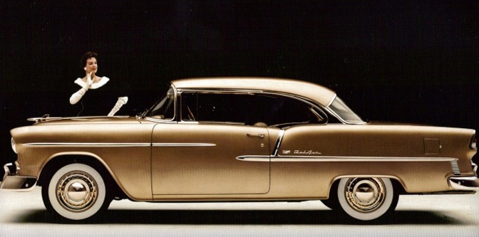 1955 Chevrolet: The Moonshot.