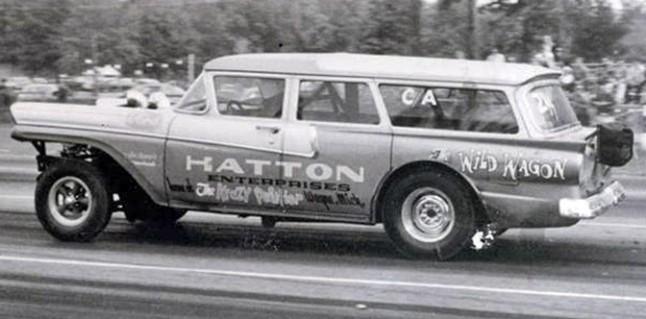 """Paul Hatton's """"Wild Wagon"""""""