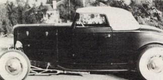 Alfred A. Berton's '32 Cabriolet