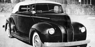 The Jean Sheppard '40 Ford