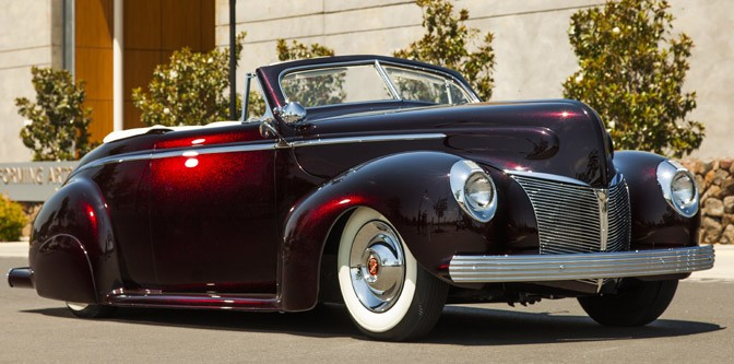 Elegance and a 1940 Mercury