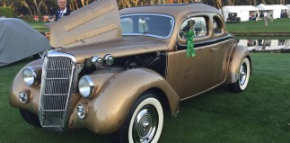 Benny's Home Built Coupe