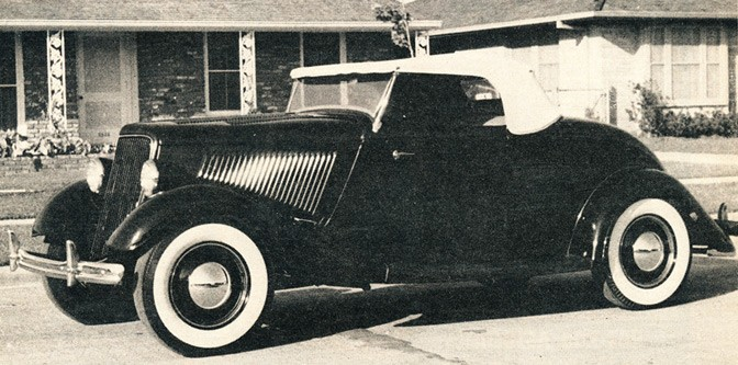 Mike Tomforde's '34 Roadster