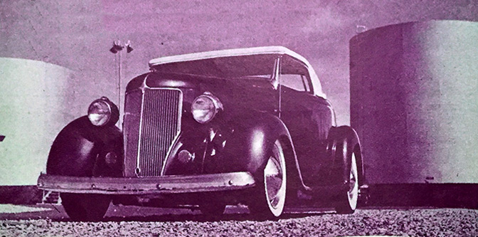 The Half & Half '36 Ford